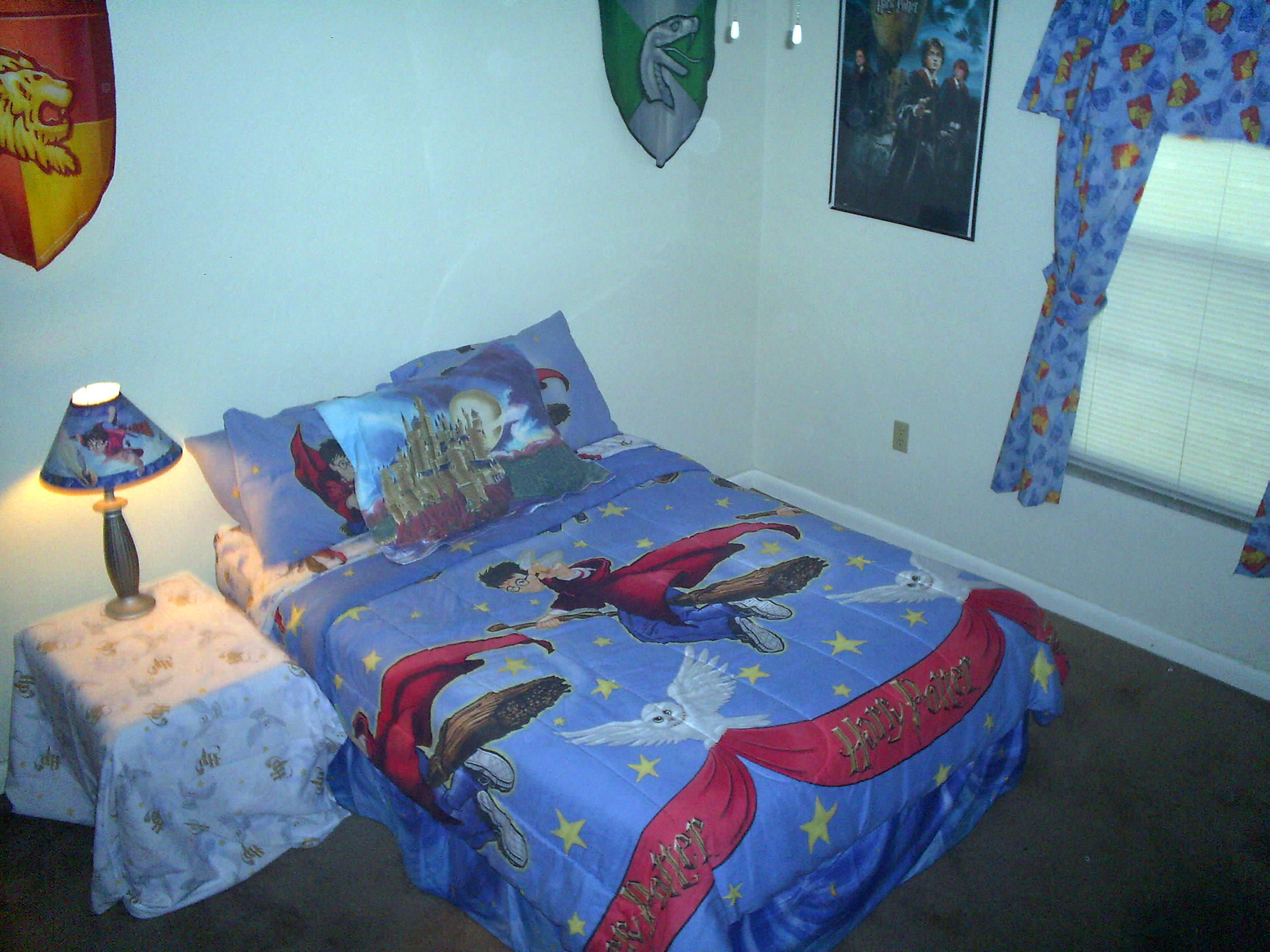 Harry Potter Bedroom Print Photos View Full Size Image